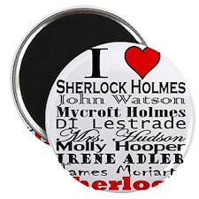 I Heart Sherlock Magnet