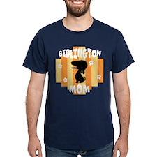 Bedlington Terrier Mom T-Shirt
