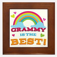 Grammy is the Best Framed Tile
