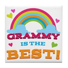 Grammy is the Best Tile Coaster