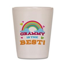 Grammy is the Best Shot Glass
