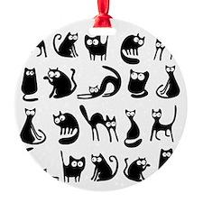 Funny cats Ornament