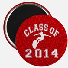 Class Of 2014 Surfing Magnet