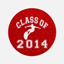 "Class Of 2014 Surfing 3.5"" Button"