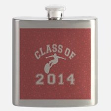 Class Of 2014 Surfing Flask