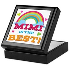 Mimi Is The Best Keepsake Box