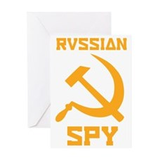 I am a Russian spy Greeting Card