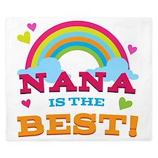Nana Is The Best King Duvet