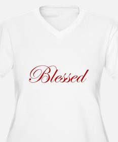 Red Blessed T-Shirt