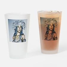 Snow Maiden Drinking Glass