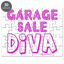 GARAGE SALE DIVA T-SHIRTS AND GIFTS Puzzle