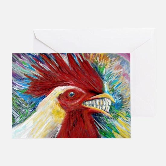 El Gallo de Cabo Greeting Card
