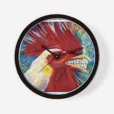 El Gallo de Cabo Wall Clock
