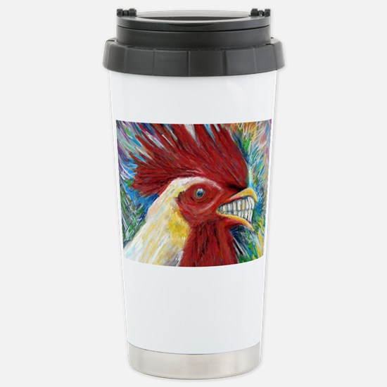 El Gallo de Cabo Stainless Steel Travel Mug
