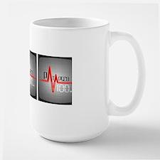 Ptap100 Logo (for Coffee Mug) Large Mug