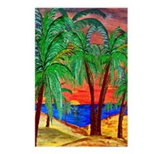 Mountain Sunset Palms Postcards (Package of 8)