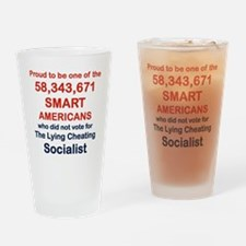 PROUD TO BE ONE OF THE 58,343,671 Drinking Glass
