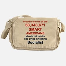 PROUD TO BE ONE OF THE 58,343,671 Messenger Bag
