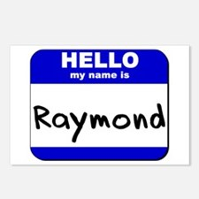 hello my name is raymond  Postcards (Package of 8)