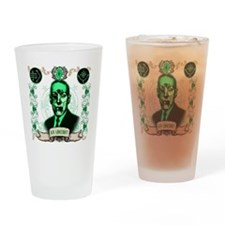 H.P. Lovecraft Cthulhu Zombie Drinking Glass