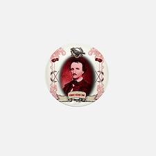 Edgar Allan Poe Raven Mini Button