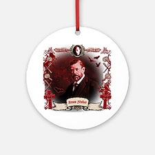 Bram Stoker Dracula Round Ornament