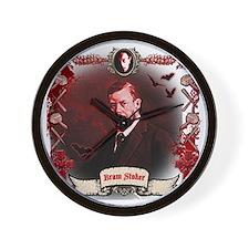 Bram Stoker Dracula Wall Clock