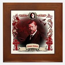 Bram Stoker Dracula Framed Tile