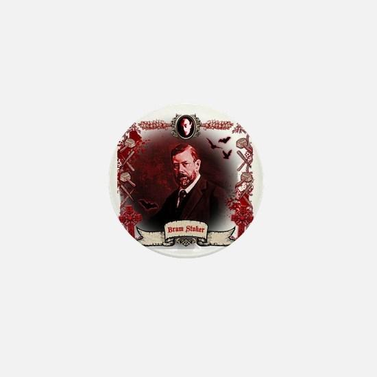 Bram Stoker Dracula Mini Button