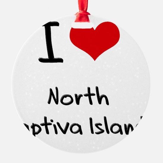 I Love NORTH CAPTIVA ISLAND Ornament