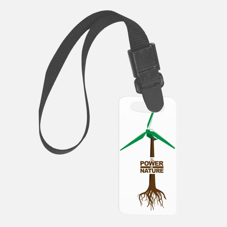 Roots of Green Energy Luggage Tag
