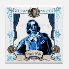 Oscar Wilde Dorian Gray Zombie Tile Coaster