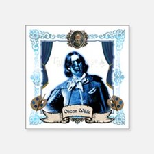 "Oscar Wilde Dorian Gray Zom Square Sticker 3"" x 3"""