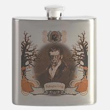 Washington Irving Sleepy Hollow Zombie Flask