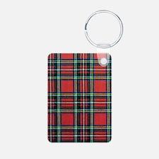 Royal Stewart Tartan Keychains