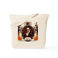 Washington Irving Sleepy Hollow Zombie Tote Bag