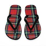 Pride of scotland tartan Flip Flops
