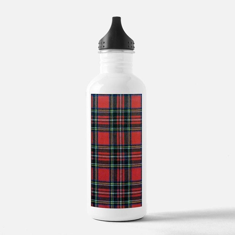 Royal Stewart Tartan Water Bottle