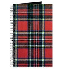 Royal Stewart Tartan Journal