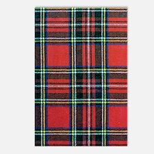 Royal Stewart Tartan Postcards (Package of 8)