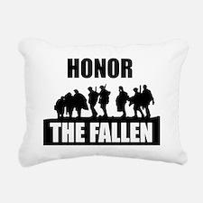 HONOR THE FALLEN Rectangular Canvas Pillow