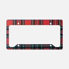 Houndstooth License Plate Frame