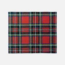 Royal Stewart Tartan2 Throw Blanket
