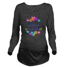 Nieces are Special Long Sleeve Maternity T-Shirt