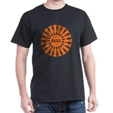 Faith Orange T-Shirt