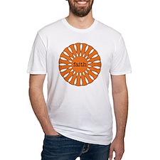 Faith Orange Shirt