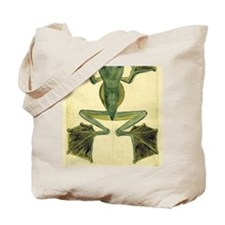 Wallaces Flying Frog large Tote Bag