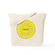 Faith Yellow Pendant Tote Bag