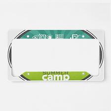 Creating Keepsakes Summer Cam License Plate Holder