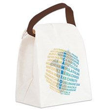 Mozambique Places Canvas Lunch Bag
